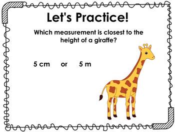Measuring Length Flipcharts