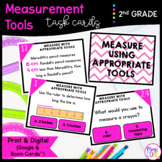 Measuring Length - Google Slides & Boom Task Cards Distanc
