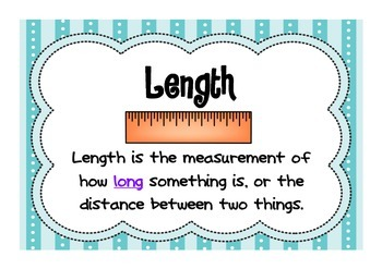 Measuring Length - Informal units