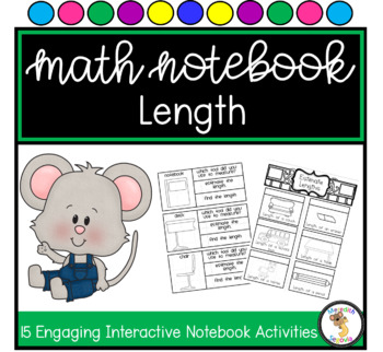 Measuring Length Interactive Notebook Unit