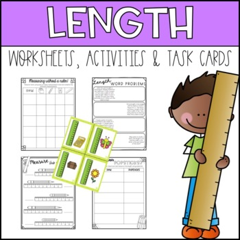 Measuring Length Metric Activities and Worksheets