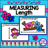 Measuring Length - Spring Measurement Cards