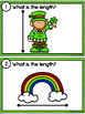 Measuring Length - St. Patrick's Day Measurement Cards