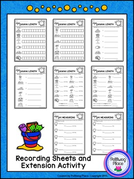 Measuring Length - Summer Measurement Cards