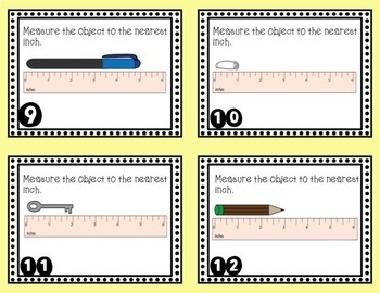 Measuring Length Task Cards