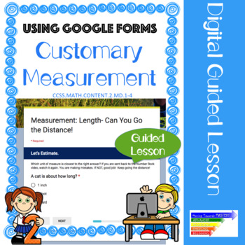 Measuring Length Using Customary Units: Digital Guided Lesson