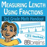 Measuring Length Using Fractions/Line Plots Digital & Prin