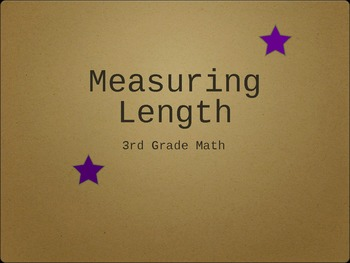 Measuring Length Using Inches