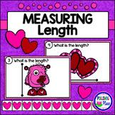 Measuring Length - Valentine's Day Measurement Cards