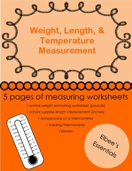 Measuring Length, Weight, and Temperature