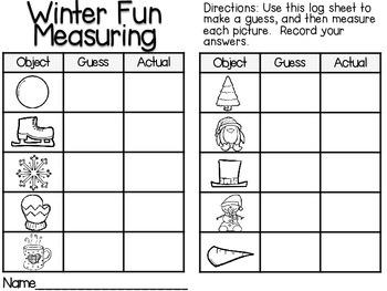 Measuring Length-Winter Fun