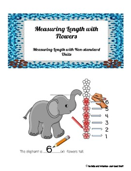 Measuring Length With Flowers (non-standard units)