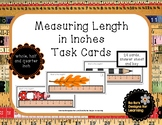 Measuring Length in Inches Task Cards