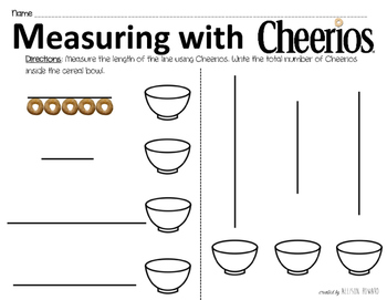 Measuring Length with Cheerios