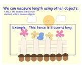 Measuring Length with Non-Standard Units (1.MD.2)