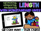 Measuring Length with Nonstandard Units - Measurement Word Problems - QR Codes