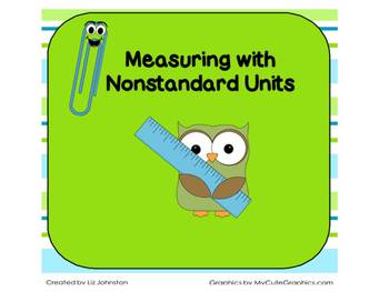 Measuring Length with Nonstandard Units Smart Notebook & P
