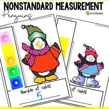 Measuring Length Worksheets - Penguins