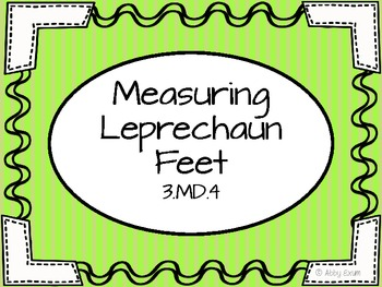 Measuring Leprechauns and Line Plots