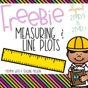 Measuring & Line Plot Freebie