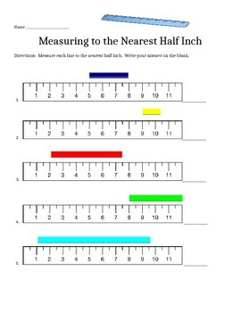 Measuring Lines that Don't Start at Zero (half inch)