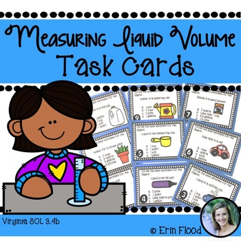 Measuring Liquid Volume Task Cards