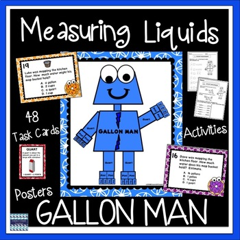 Measuring Liquids with the GALLON MAN