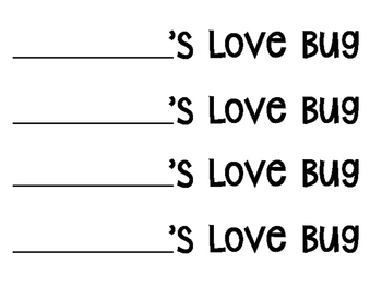 Measuring Love Bugs