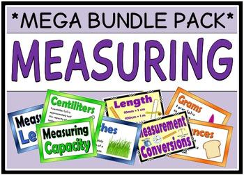 Measuring (MEGA BUNDLE PACK)