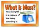 Measuring Mass (US Standard Units)