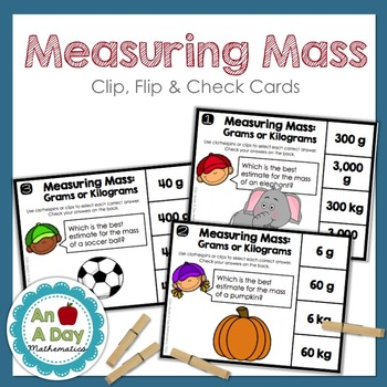 Measuring Mass: Clip, Flip and Check