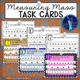Measuring Mass TASK CARDS {Reading a Triple Beam Balance}