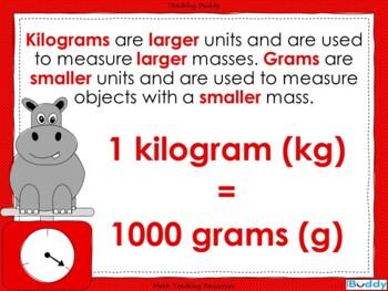 Measuring Mass Using Standard Units