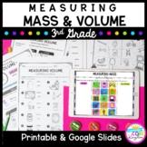 Measuring Mass & Volume Unit for Google Slides Distance Le