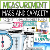 Measuring Mass and Volume Activities and Worksheets