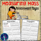 Measuring Mass with a Triple Beam Balance {Assessment Pages}