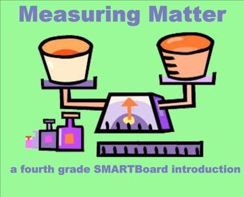 Measuring Matter - A Fourth Grade SMARTBoard Introduction