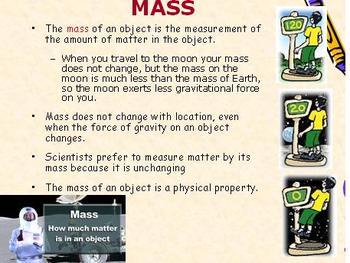 Measuring Matter: Density, Volume, Mass
