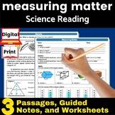Measuring Matter (Density) Guided Reading