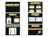 Measuring Matter Flipchart