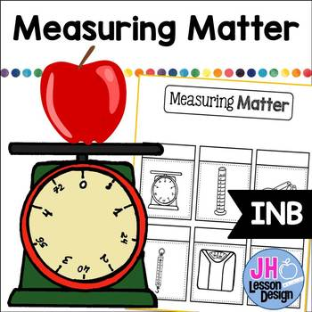 Measuring Matter Interactive Notebook Activity: Mass and Volume