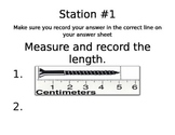 Measuring Matter Lab Stations