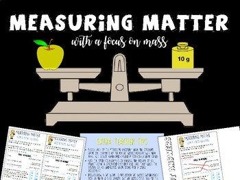 Measuring Matter (With a Focus on Mass)