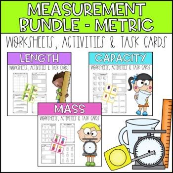 Measuring Metric Bundle - Length, Capacity and Mass/Weight