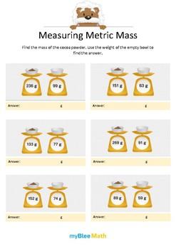 Measuring Volume & Mass: Measuring Metric Mass 2
