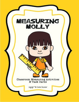 """Measuring Molly - Using a Ruler to the nearest 1/4"""""""