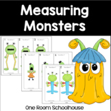 Measuring Monsters to the nearest inch, half inch, and qua