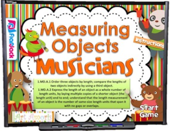 Measuring Musicians Smart Board Game