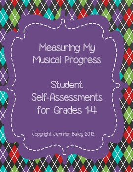Measuring My Musical Progress Grade 1-4