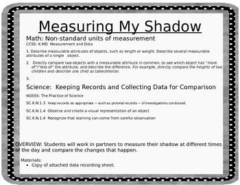 Measuring My Shadow